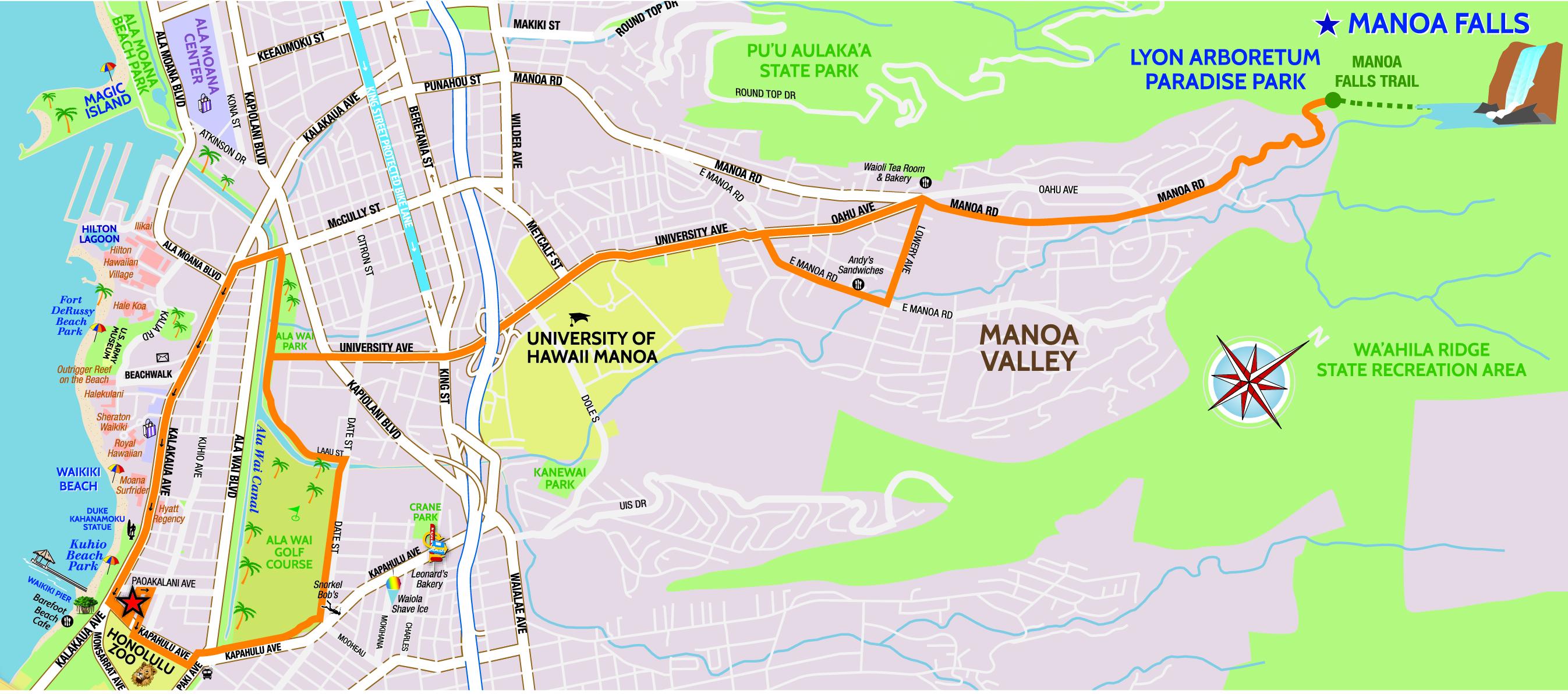 manoa-falls-map